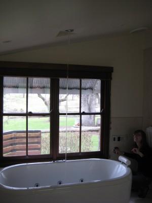 Cottage spa