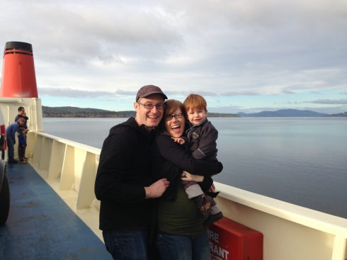 Holiday in Hobart (this photo was on the ferry across to Bruny Island)